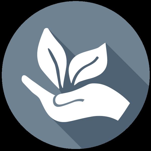 Pott au Chocolat Homepage Startseite Icon Nachhaltigkeit