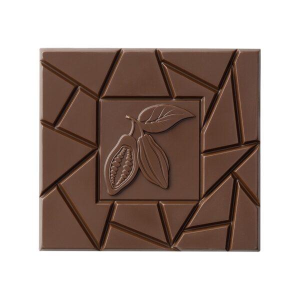 Schokoladentafel aus Milchschokolade von Pott au Chocolat
